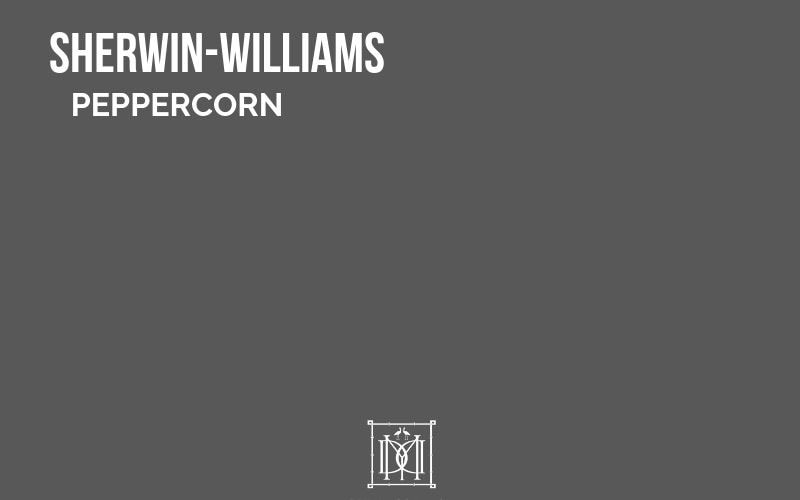master bedroom paint colors- Sherwin Williams Peppercorn