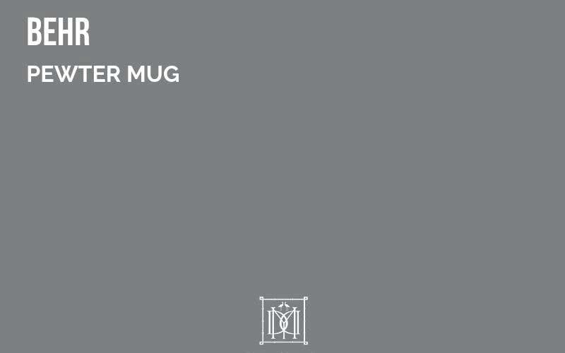behr pewter mug paint color