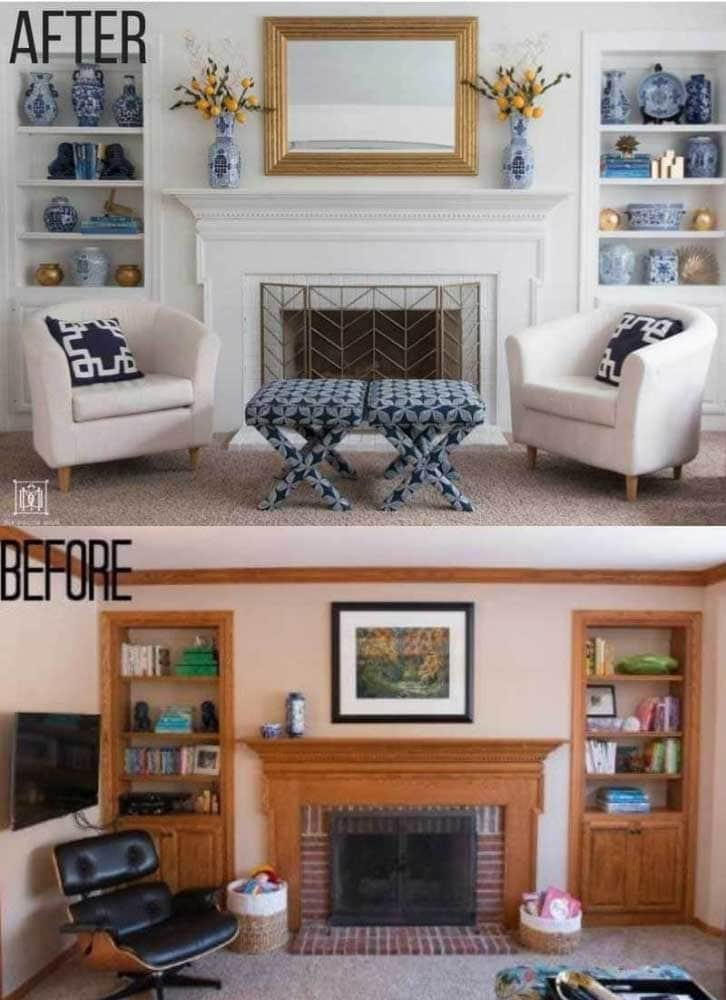 family room before and after shop our home