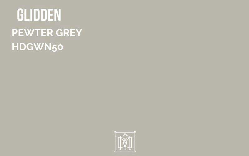 glidden pewter gray paint color