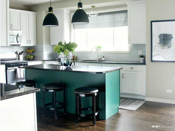 Bright, White and Bold Kitchen Revamp Reveal Part 2