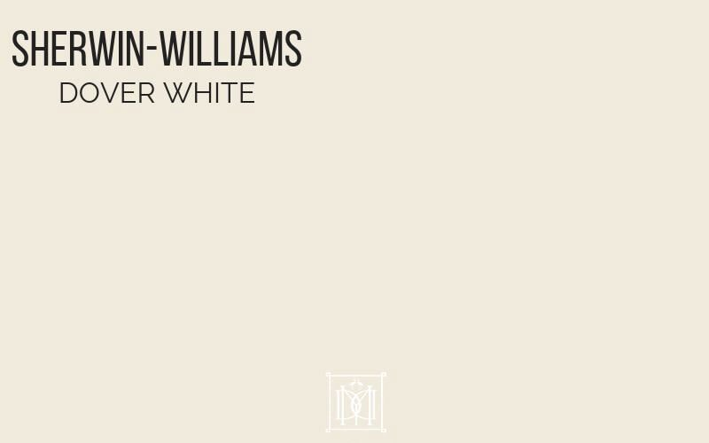 master bedroom colors- sherwin-williams dover white