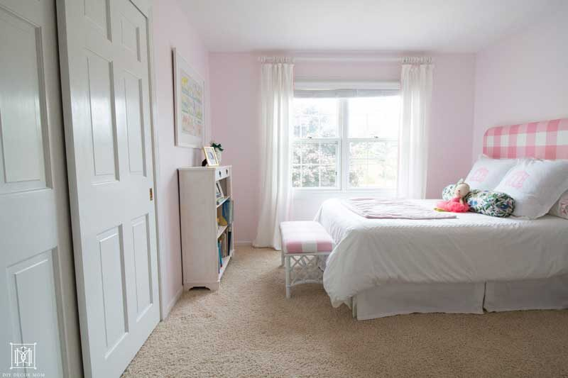 benjamin moore romantic pink bedroom