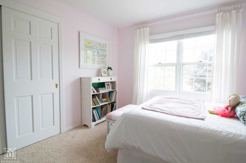 blush pink girls nursery