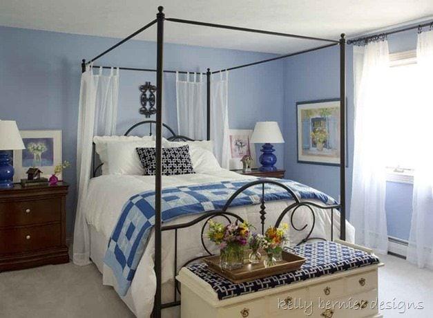 Benjamin Moore Santorini Blue