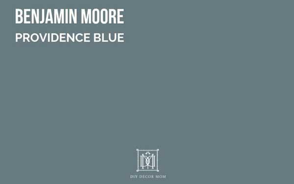 benjamin moore providence blue--favorite blue grey paint colors