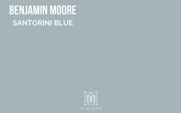 benjamin moore santorini blue paint chip