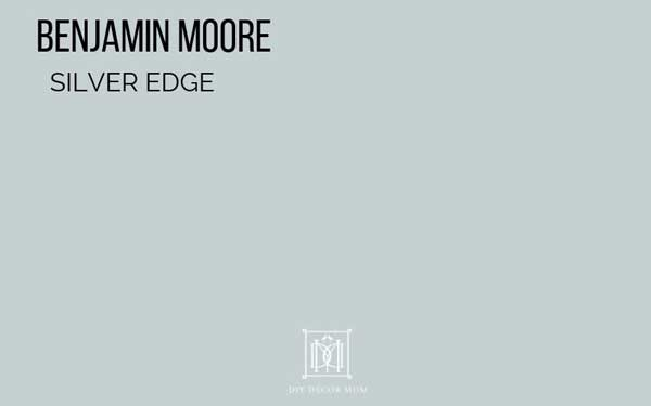 benjamin moore silver edge paint color