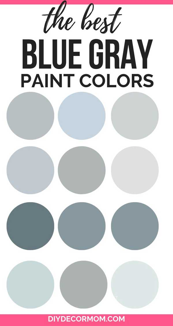 best blue gray paint colors for your home