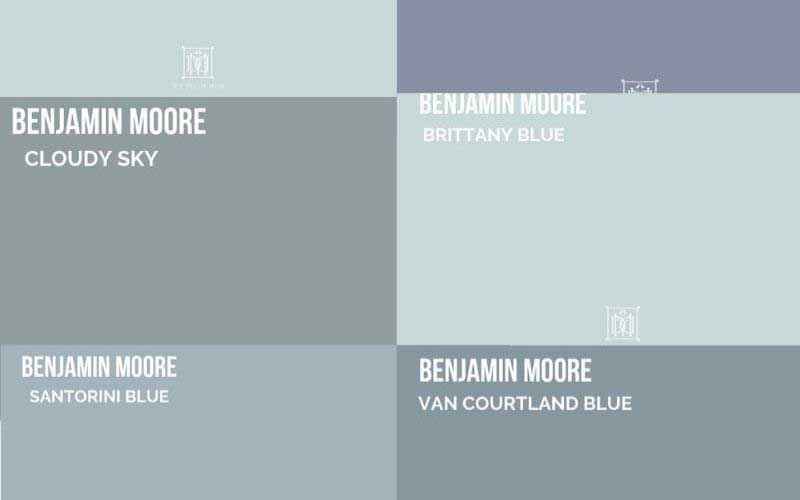 blue gray paint colors