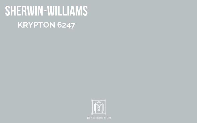 sherwin-williams krypton paint chip