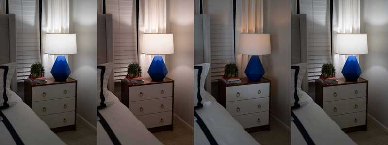 ambient light settings for relaxing bedroom