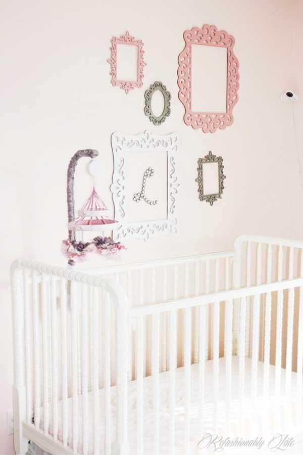 sherwin-williams white dogwood pink paint color nursery