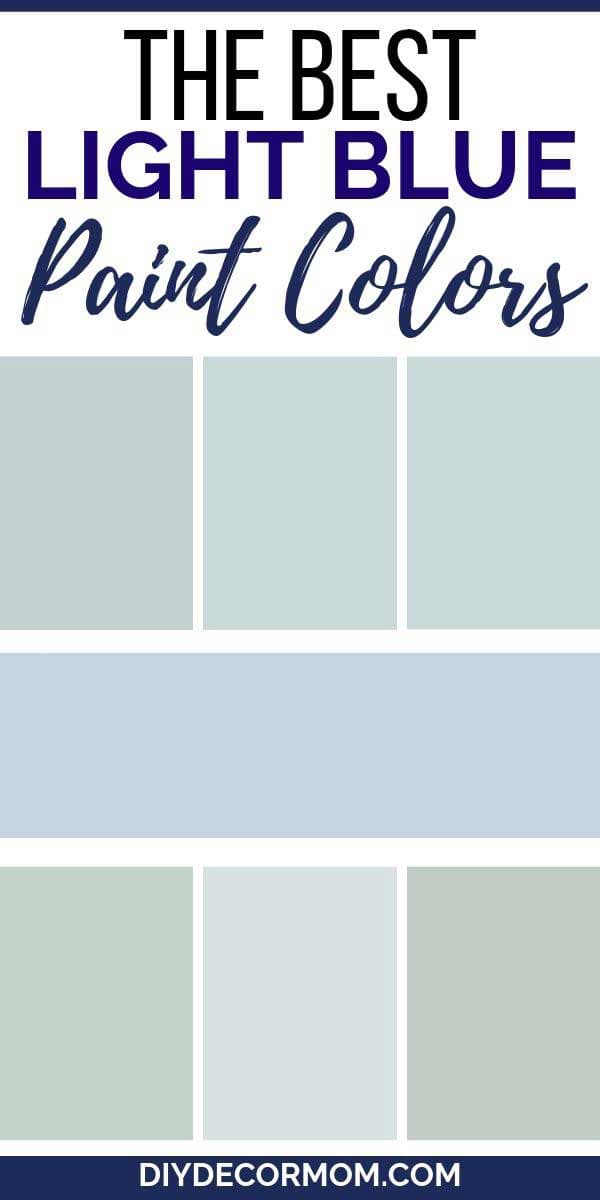 best light blue paint colors