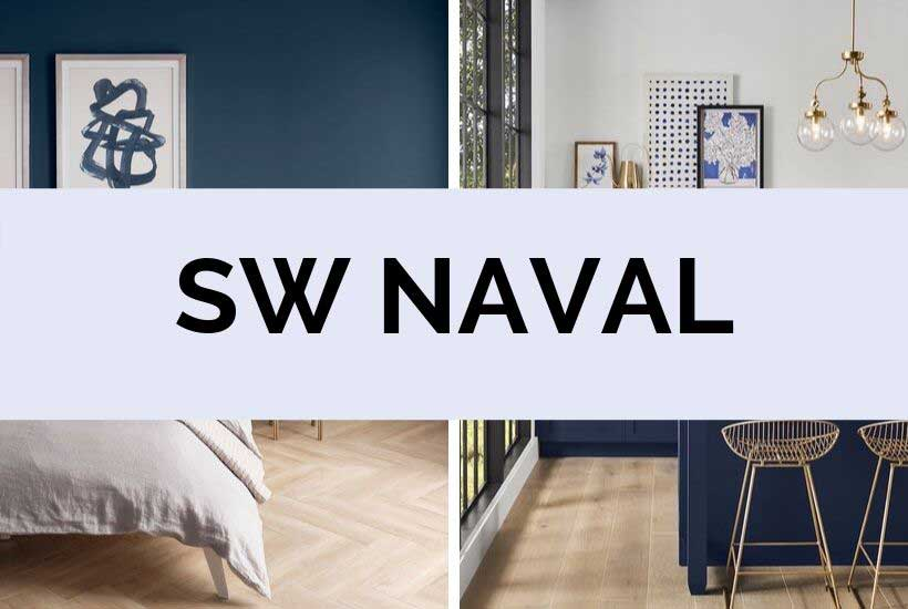 Sherwin Williams Naval Navy Blue Paint Color Of The Year