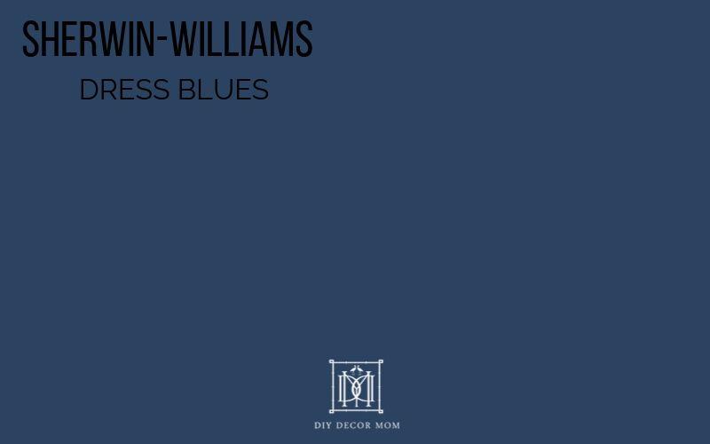 ssherwin-williams dress blues