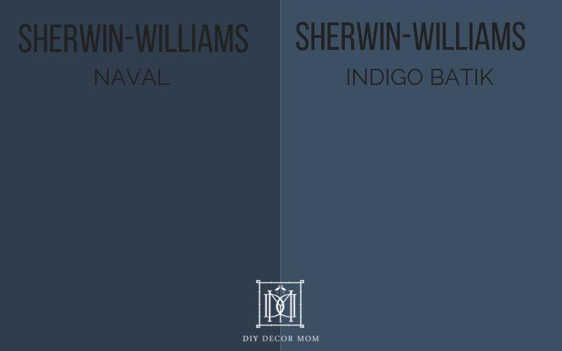 SW Naval vs. indigo batik