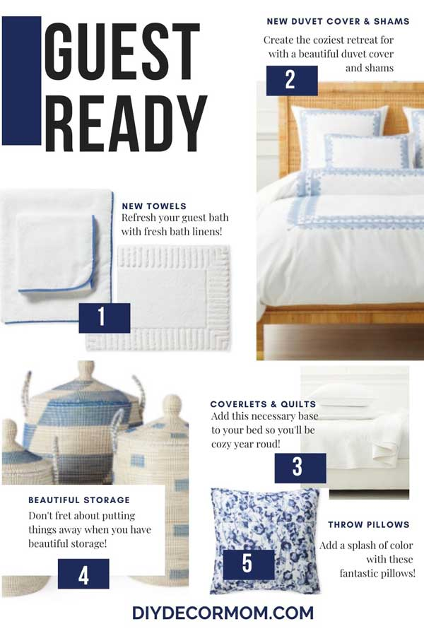 guest room must-haves including houseguest tips and tricks