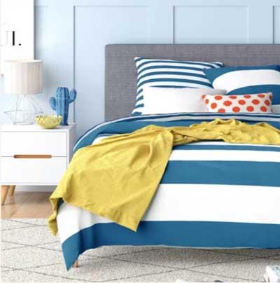 light blue bedroom paint color