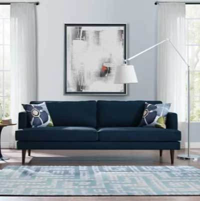 best light blue paint colors for living room