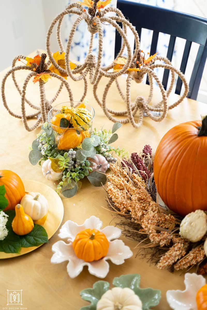 vertical fall tablescape