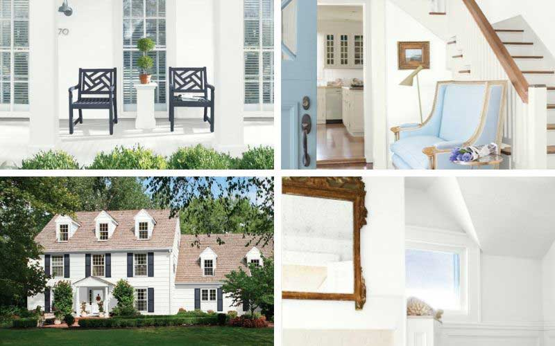 benjamin moore chantilly lace exterior, bathroom, entryway, and shingles