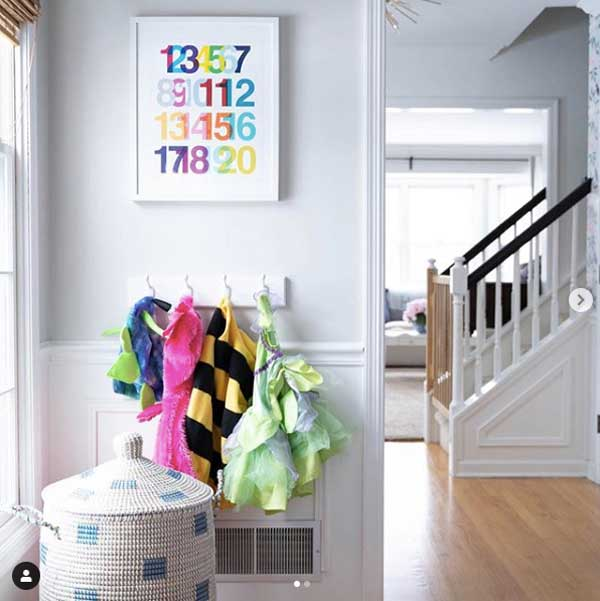 dress up in a playroom