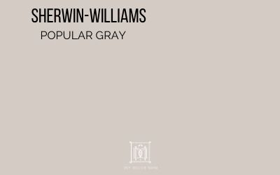 SW Popular Gray paint chip