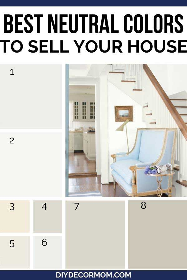 best neutral paint colors for selling your house