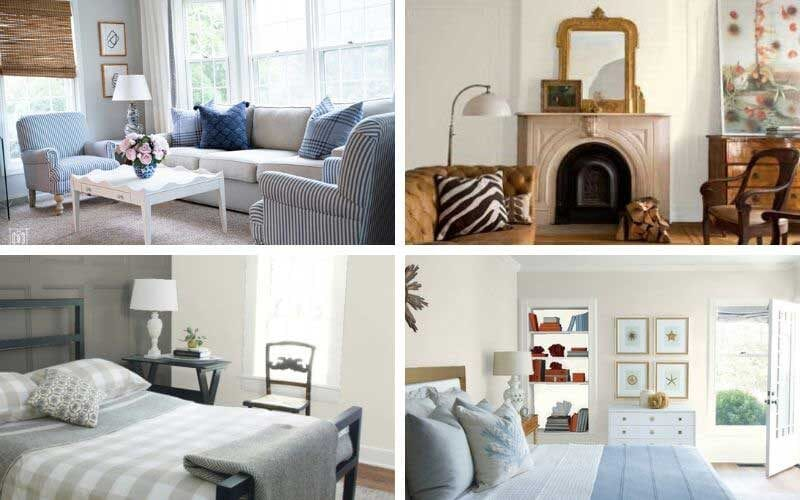 warm paint colors in bedrooms and living rooms