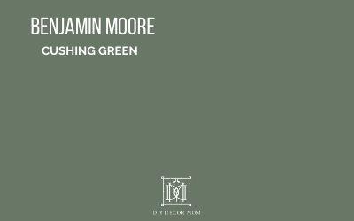 Benjamin Moore Cushing Green