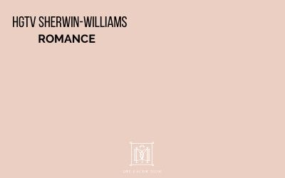HGTV Sherwin-Williams Romance