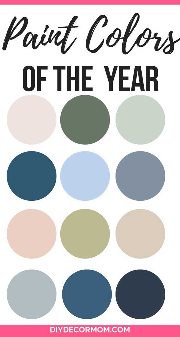paint colors of the year 2020