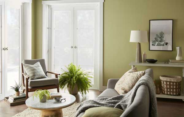 behr back to nature living room