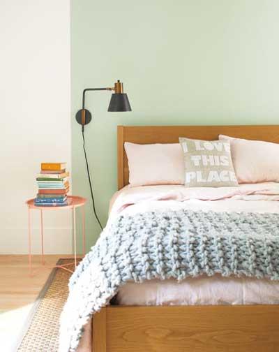 benjamin moore cyrstalline bedroom