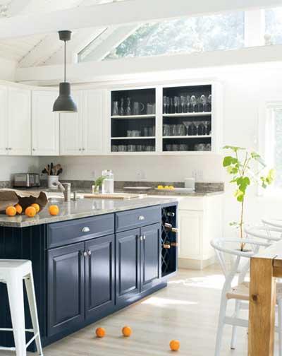 benjamin moore oxford gray kitchen island