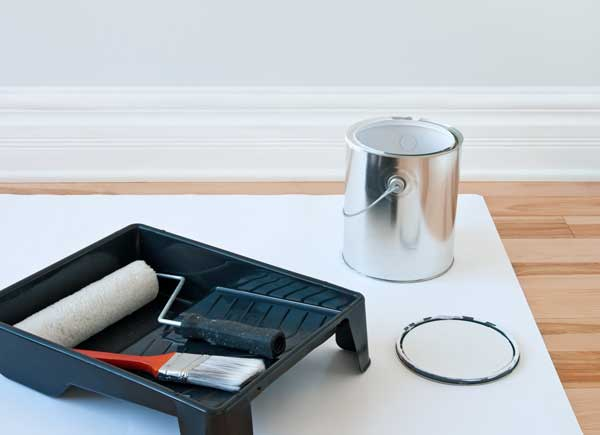 white baseboard with white paint--what are the best white paints for trim?
