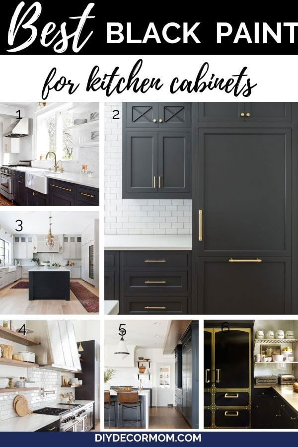 black kitchen cabinets and islands in luxury kitchens