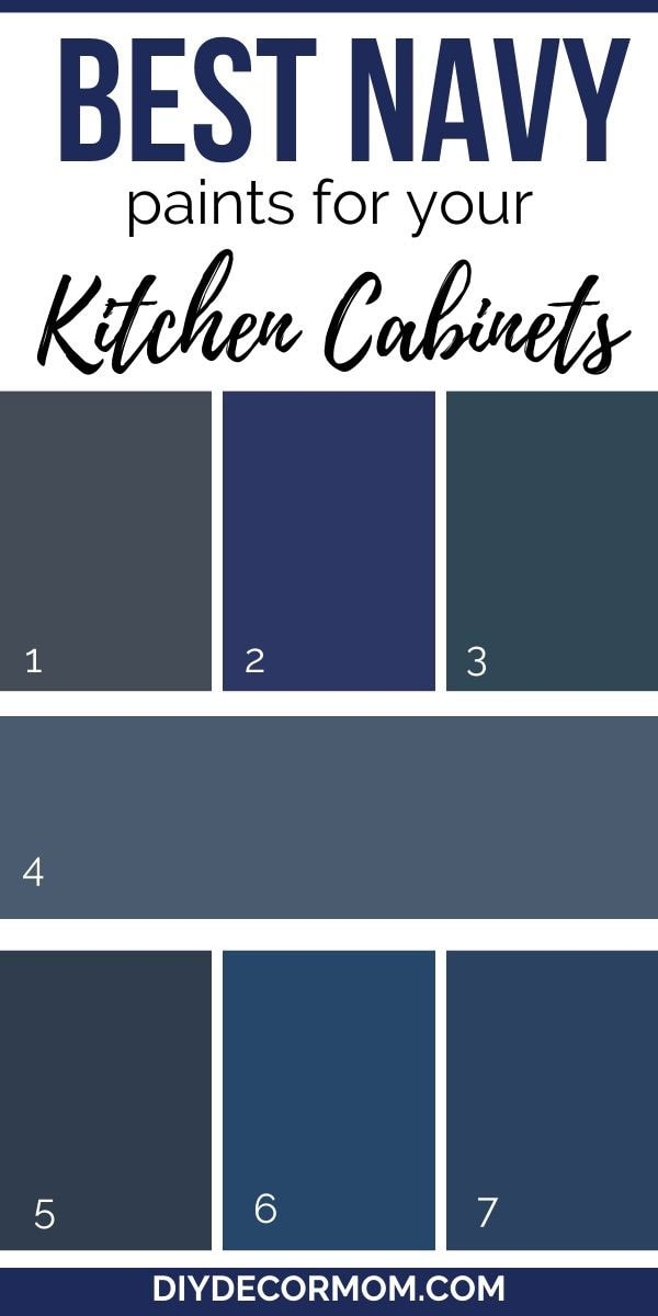best navy paint colors for kitchen cabinets and islands