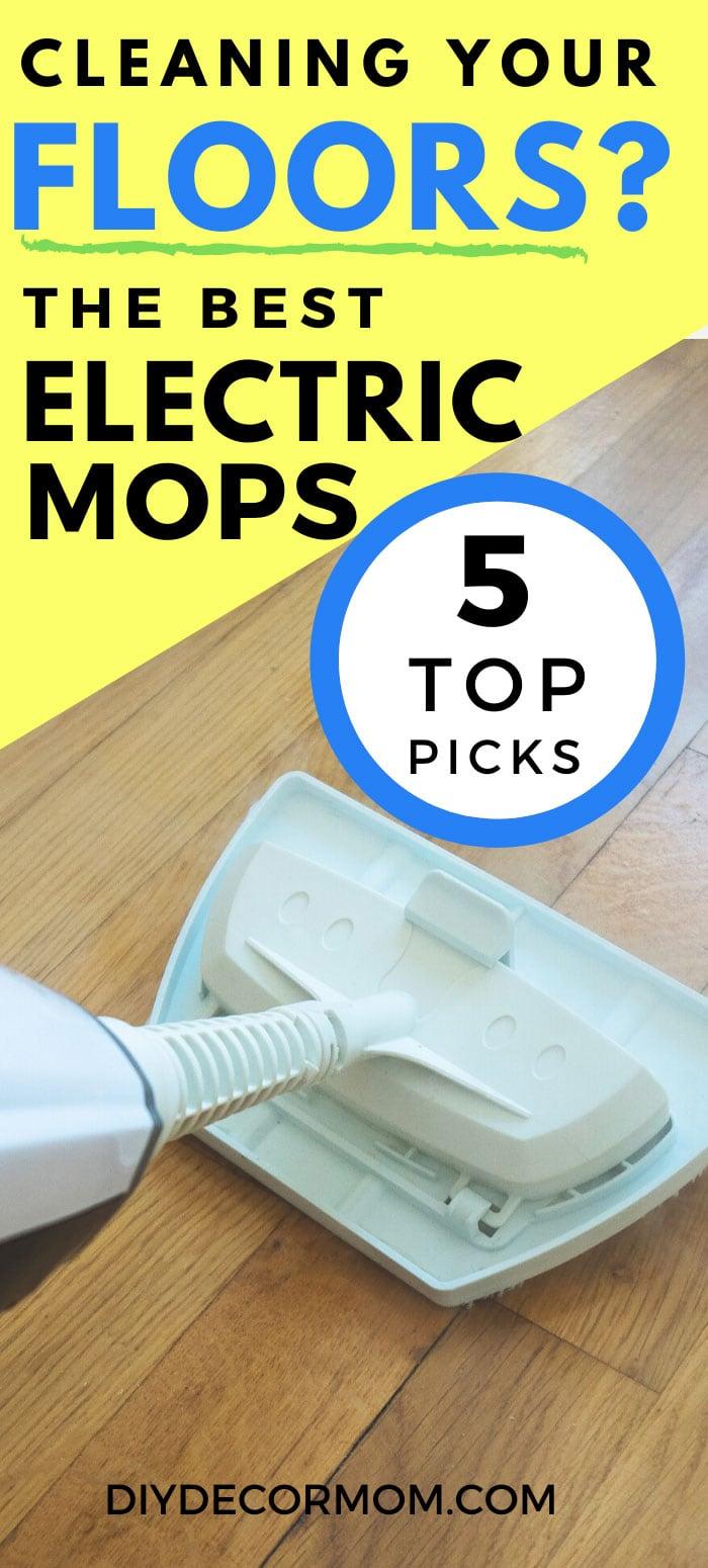 best cordless mops for tile and hardwood floors