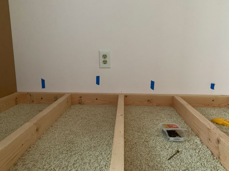 how to secure and anchor the base of diy bunk beds