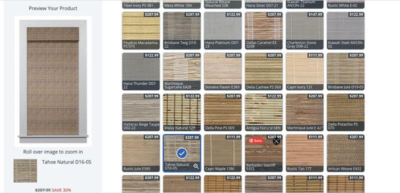 blinds.com tahoe natural