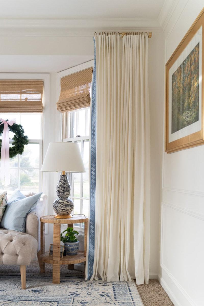 how to make custom acrylic curtain rods
