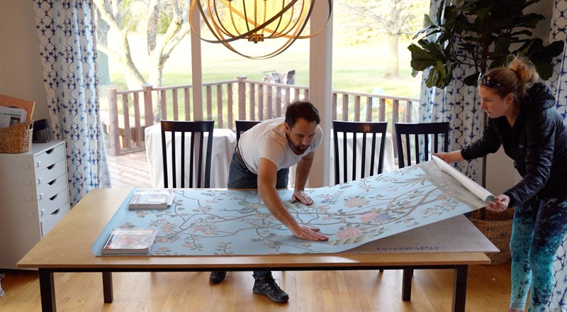 how to frame your own chinoiserie print