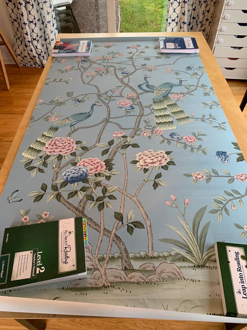 how to frame a chinoiserie panel budget-friendly